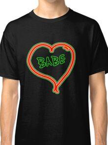 I LOVE babe heart  Classic T-Shirt