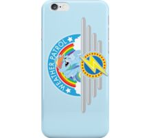 Weather Patrol iPhone Case/Skin