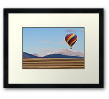 Colorado Ballooning Framed Print
