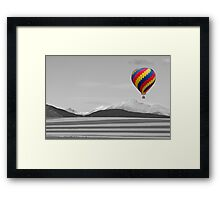 In Their Own World Colorado Ballooning Framed Print