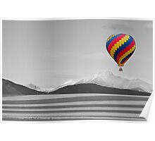 In Their Own World Colorado Ballooning Poster