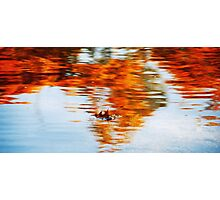 Alone in Colour Photographic Print