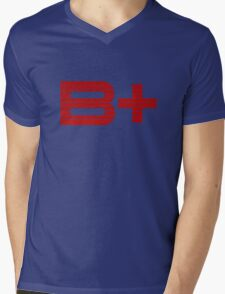 Be Positive Mens V-Neck T-Shirt