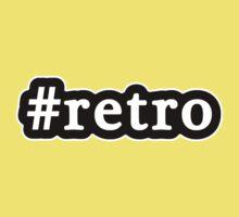 Retro - Hashtag - Black & White One Piece - Short Sleeve