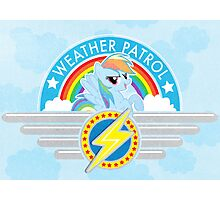 Weather Patrol Photographic Print
