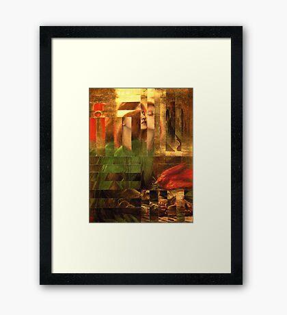 Rossetti Tetris. Framed Print