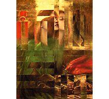 Rossetti Tetris. Photographic Print