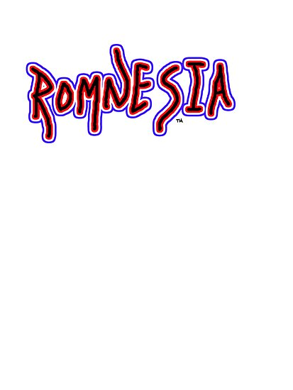 Romnesia Obama Coins Mitt Romney  by Tia Knight