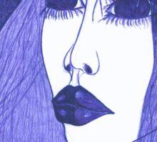 In Blue Colour Sticker