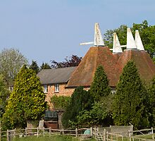 Oast House conversion by Sue Robinson