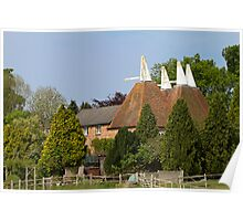 Oast House conversion Poster