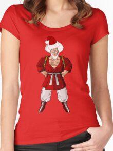 Mr satan Mr santa Women's Fitted Scoop T-Shirt