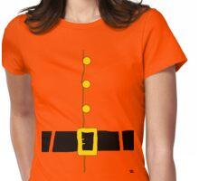 Halloween costume Santa suit ho ho ho  Womens Fitted T-Shirt