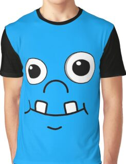 Cute funny cartoon face Graphic T-Shirt