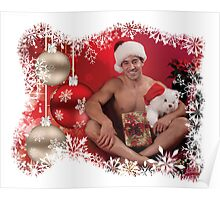 39212A-RA Chris Rockway Christmas Poster