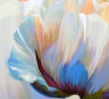 Coco In Love, dramatic floral art Sticker