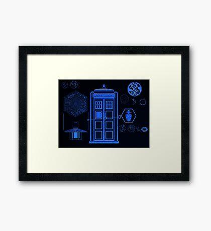 Police Box Framed Print