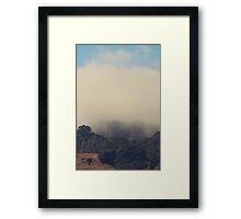 Still Hanging On Framed Print