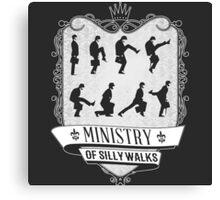Silly walks Canvas Print