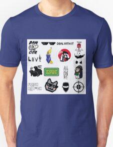 Thug life collage T-Shirt