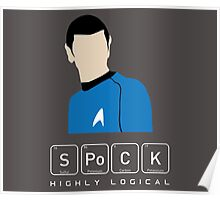 Highly Logical Spock Poster