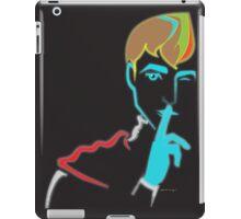 Neon - Hush now, my dear princess! iPad Case/Skin