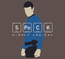 Highly Logical Spock V2 One Piece - Short Sleeve