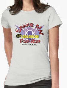 Snake Way Fun Run Womens Fitted T-Shirt