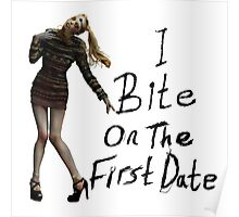 I bite on the first date Poster