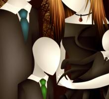 Slender Family Portrait Sticker