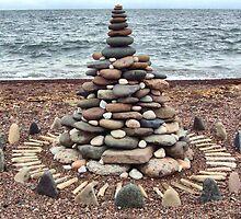 Lake Superior Christmas Tree by Lillian Holm