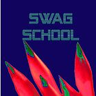 Swag School Navy Case by EducatedTruth