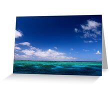 MCC Great Barrier Reef Greeting Card