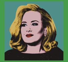 Adele Pop Art -  #adele  Baby Tee