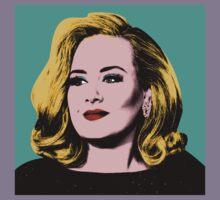 Adele Pop Art -  #adele  Kids Tee