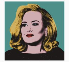 Adele Pop Art -  #adele  Kids Tee
