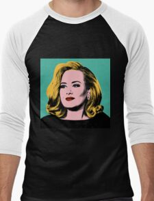 Adele Pop Art -  #adele  Men's Baseball ¾ T-Shirt