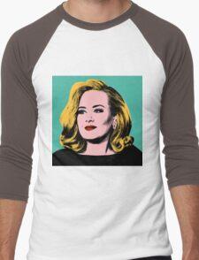 Adele Pop Art -  #adele  Men's Baseball ¾ T-Shirt