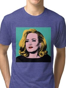Adele Pop Art -  #adele  Tri-blend T-Shirt