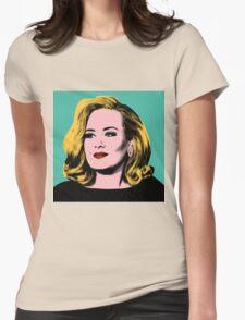 Adele Pop Art -  #adele  Womens Fitted T-Shirt