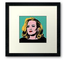 Adele Pop Art -  #adele  Framed Print
