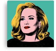 Adele Pop Art -  #adele  Canvas Print