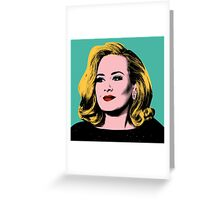 Adele Pop Art -  #adele  Greeting Card