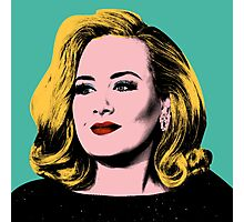 Adele Pop Art -  #adele  Photographic Print