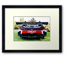 Visit Britain; and buy your very own Maclaren  Framed Print