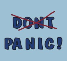 Don't Panic - or rather, PANIC! by lightsmith