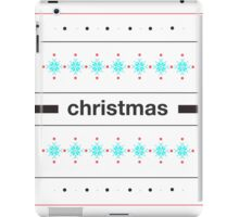White Christmas iPad Case/Skin