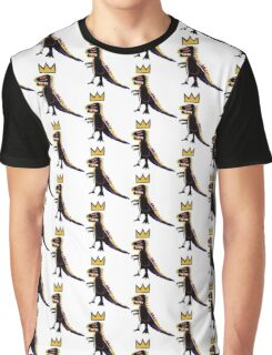 Basquiat Dinosaur Graphic T-Shirt