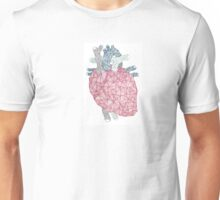 Crystal Heart Structure Unisex T-Shirt
