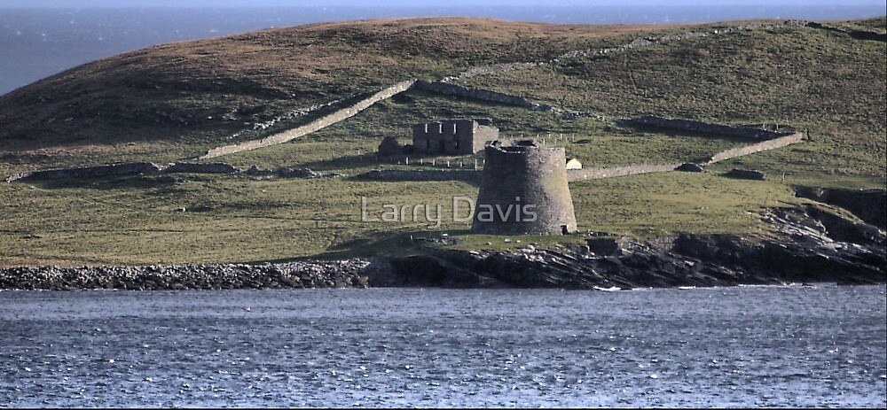 The Broch of Mousa by Larry Lingard-Davis